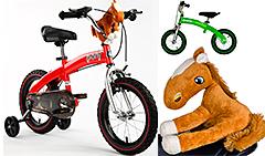 Беговел RoyalBaby Pony (2 в 1) + игрушка в подарок!