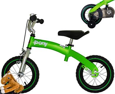 """Детский беговел-велосипед Royal Baby Pony (2 в 1) 14"""""""