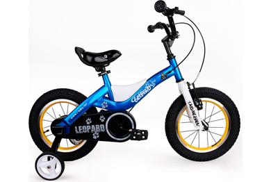 "Детский велосипед Royal Baby Leopard Steel 14"""