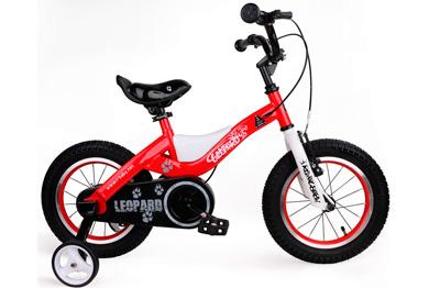 "Детский велосипед Royal Baby Leopard Steel 18"""