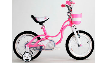 "Детский велосипед Royal Baby Little Swan Steel 14"""