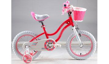 "Детский велосипед Royal Baby Stargirl Steel 14"""